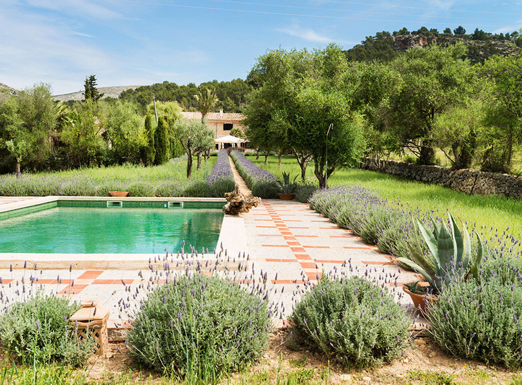Fabulous house with a garden in spain for Garden design ideas in spain