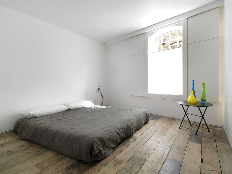 Loft - a warehouse in Bermondsey district - Bedroom