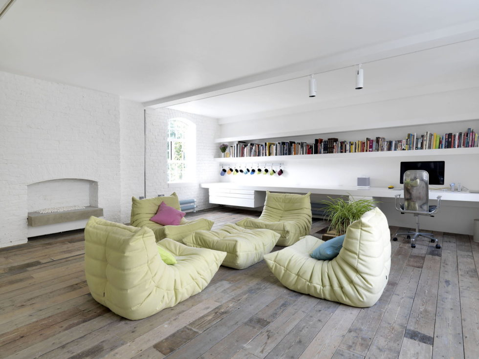 Loft - a warehouse in Bermondsey district - Living room