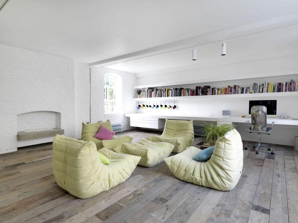 Loft - a warehouse in Bermondsey district - Living room