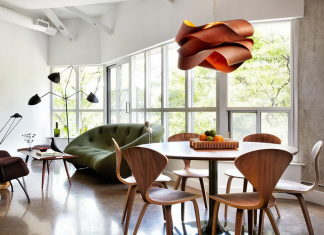 Modern Apartment In Loft Style From Stephane Chamard