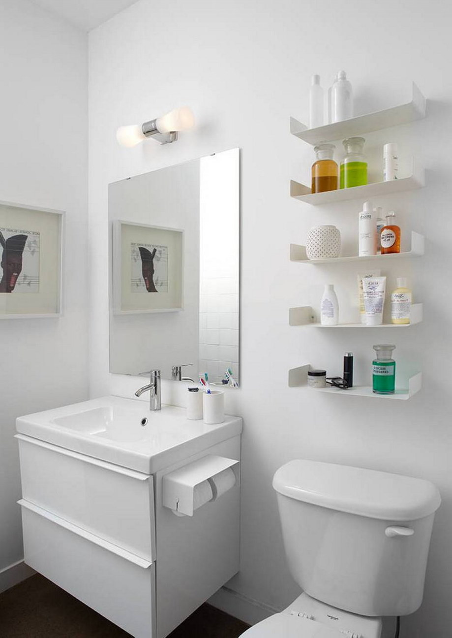 Modern Apartment In Loft Style From Stephane Chamard - Bathroom