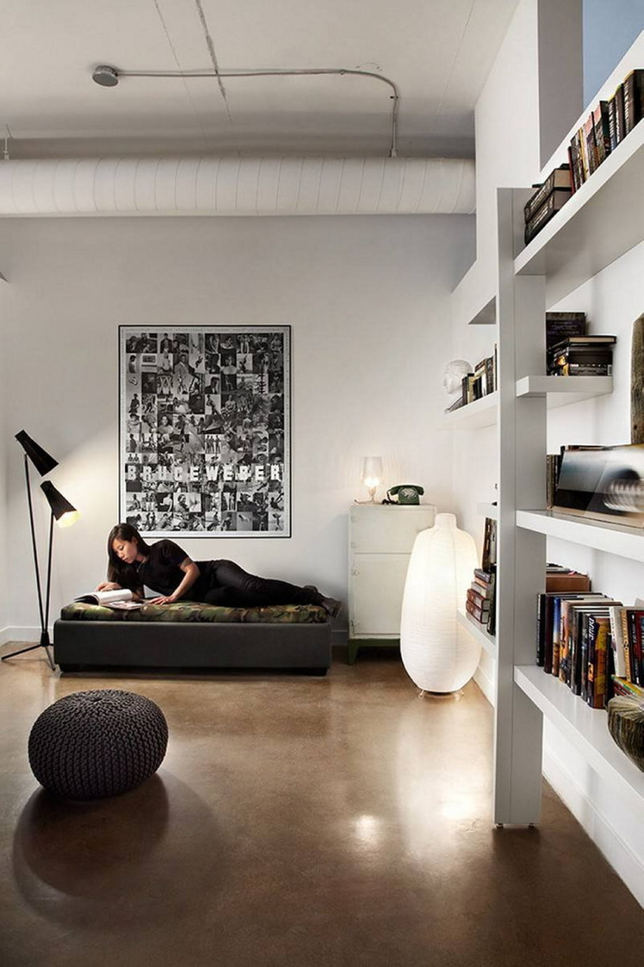Modern Apartment In Loft Style From Stephane Chamard - Interior