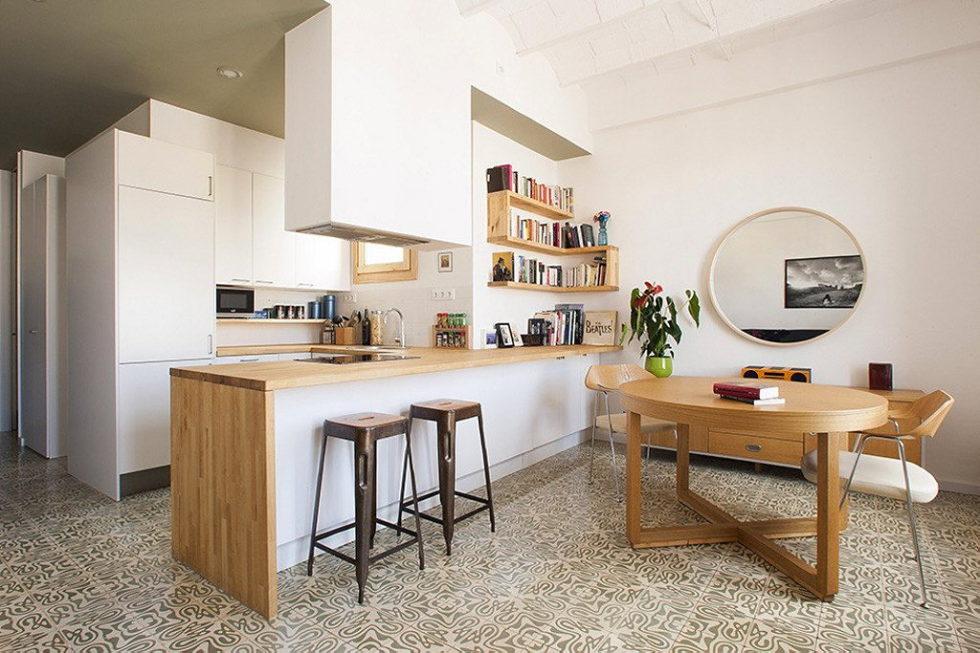 Nook Architects Studio Presents Casa Jes Apartment, Barcelona 1