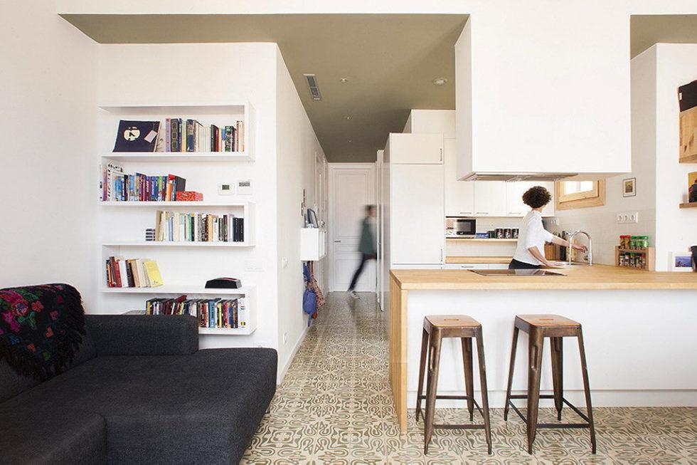 Nook Architects Studio Presents Casa Jes Apartment, Barcelona 3