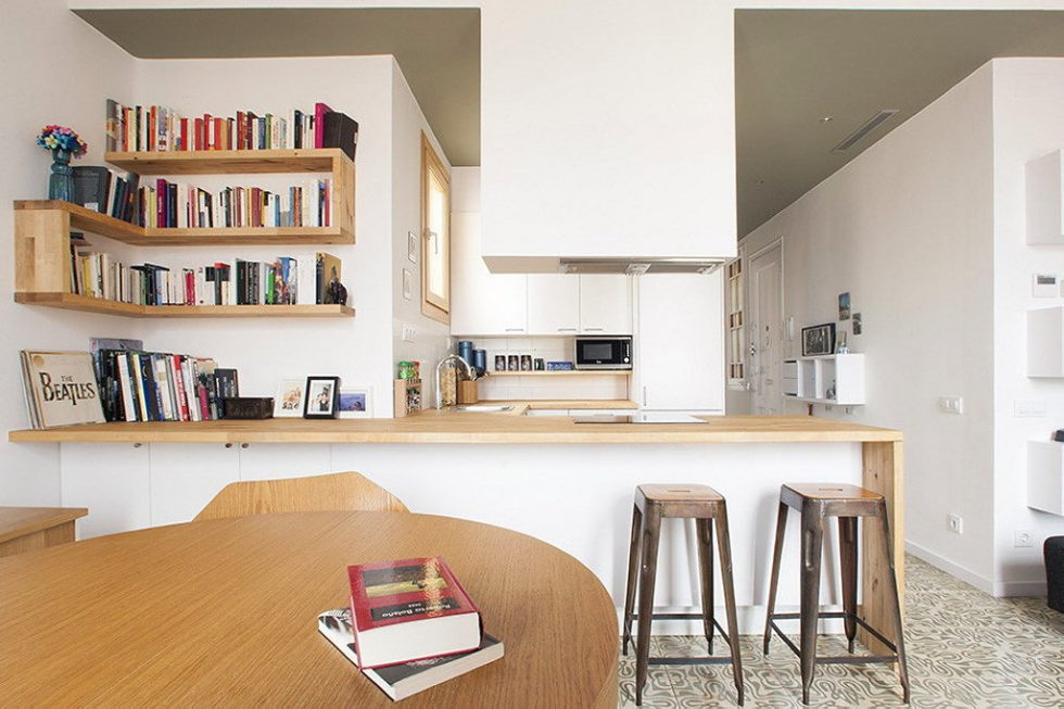 Nook Architects Studio Presents Casa Jes Apartment, Barcelona 4