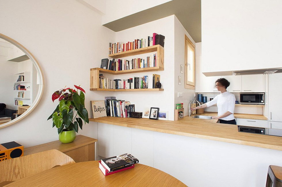 Nook Architects Studio Presents Casa Jes Apartment, Barcelona 5