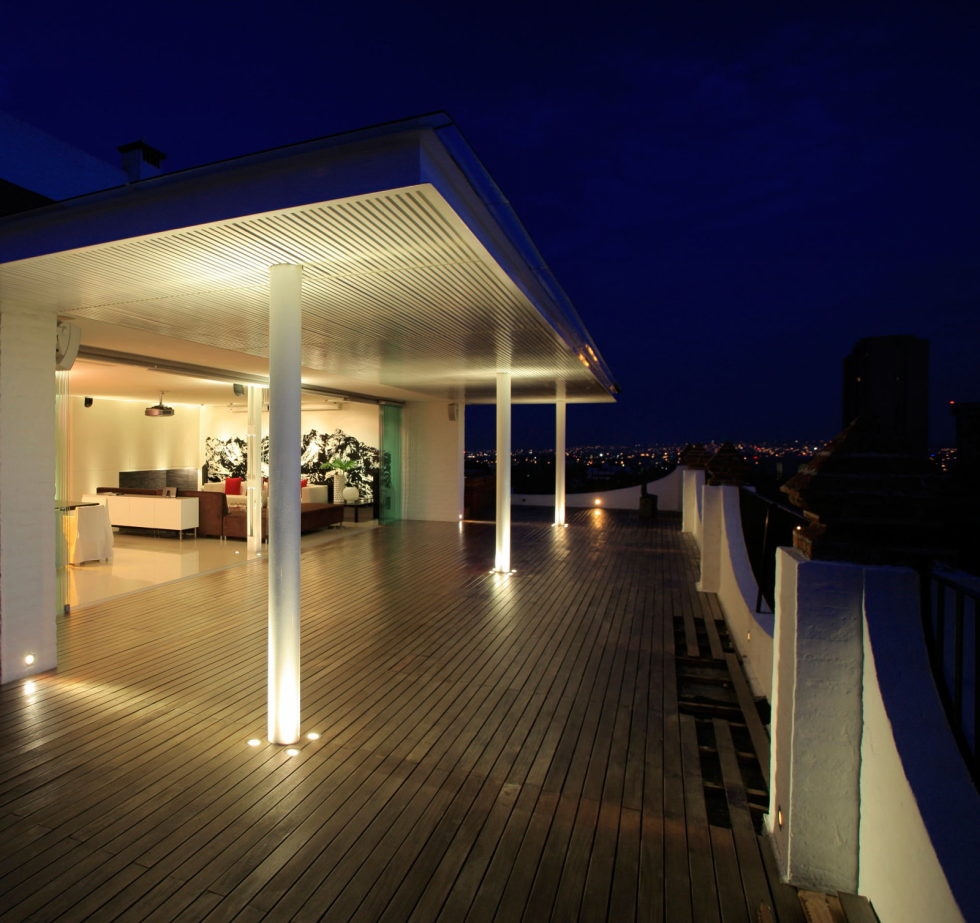 Penthouse with Glass Floor Bathroom, Guadalajara, Mexico - Outdoor terrace