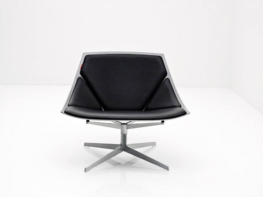Space Rest Armchair From Jehs+Laub - Black color