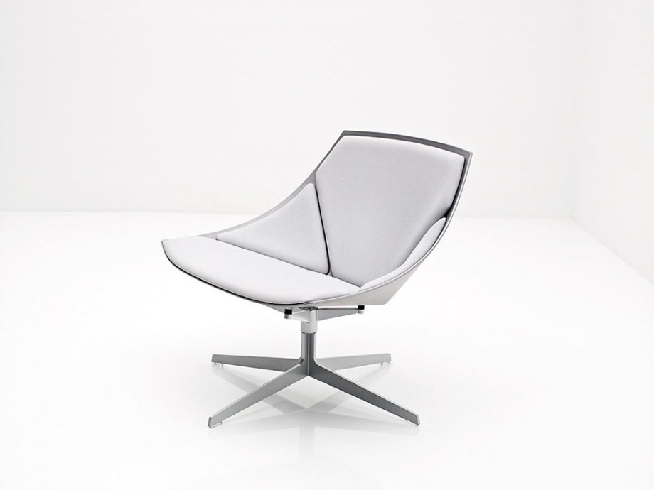 Space Rest Armchair From Jehs+Laub - White color