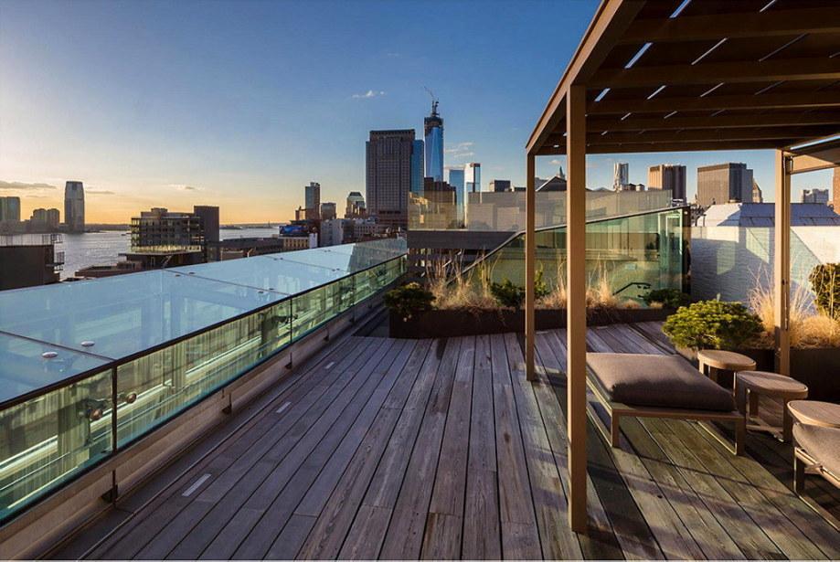 The 497 Greenwich Street penthouse in Soho 14