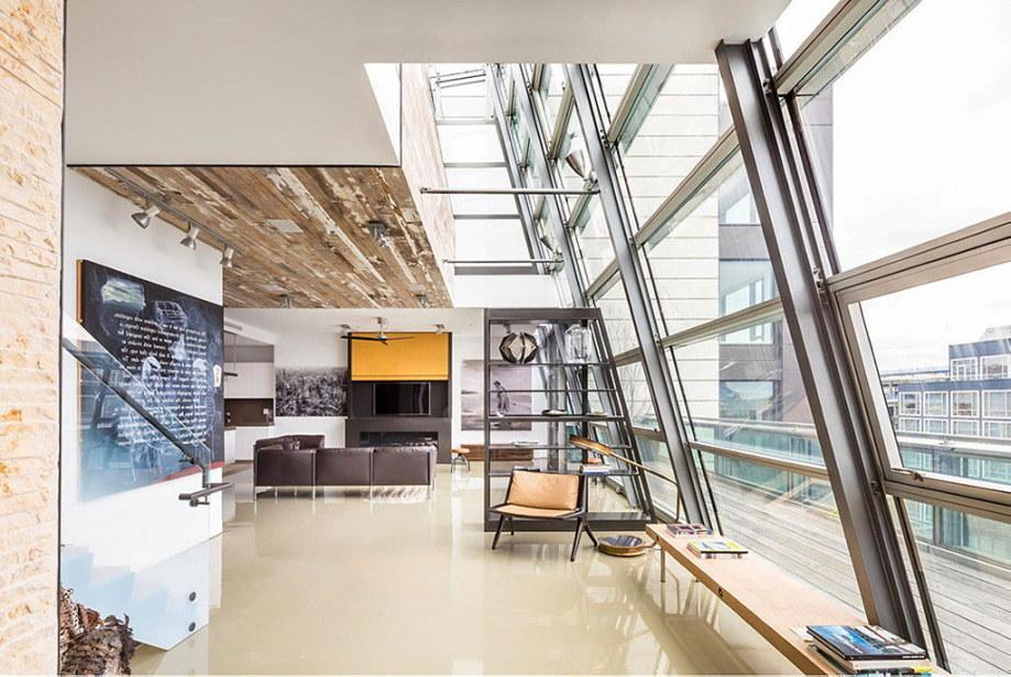 The 497 Greenwich Street penthouse in Soho 2