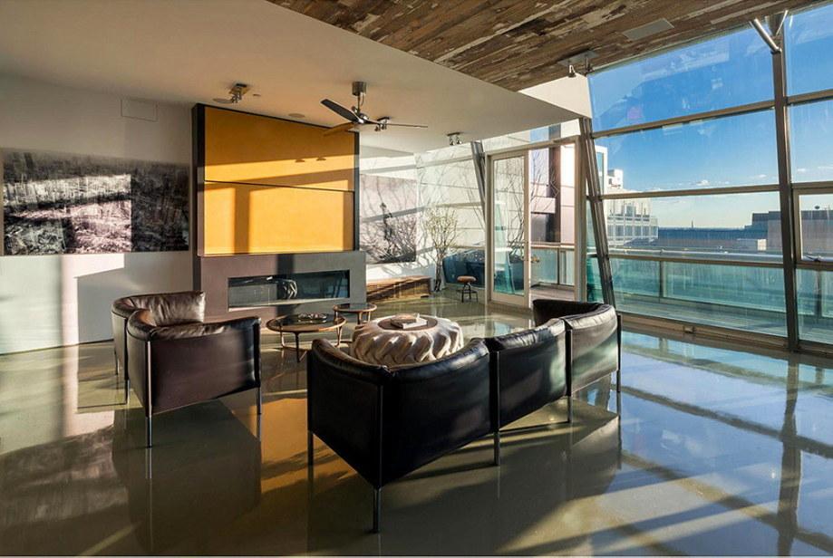 The 497 Greenwich Street penthouse in Soho 4