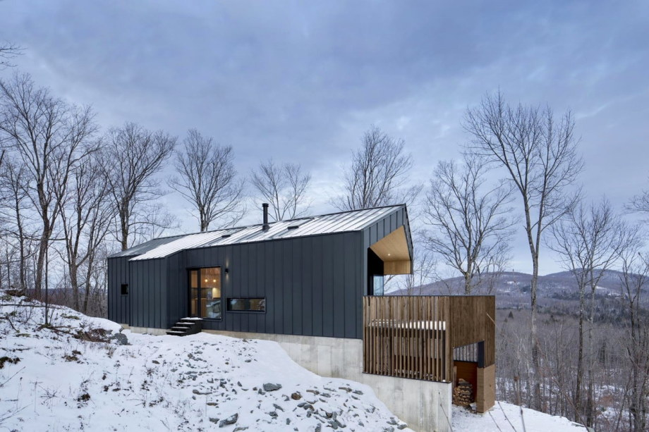 The Bolton house from Office Naturehumaine in Quebec 1