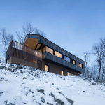 The Bolton house from Naturehumaine architecture firm in Quebec