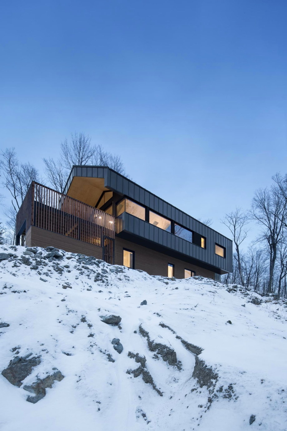 The Bolton house from Office Naturehumaine in Quebec 14