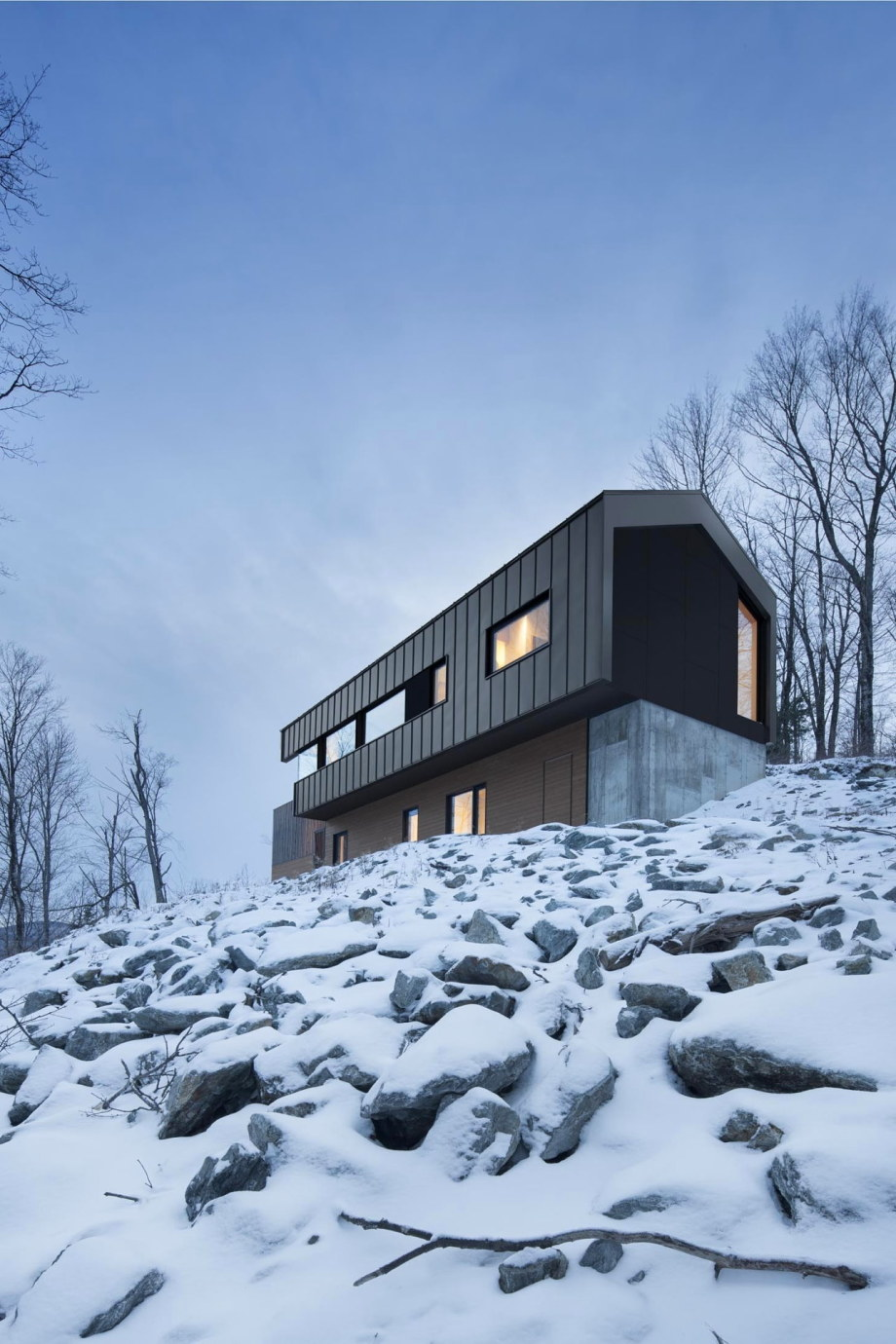 The Bolton house from Office Naturehumaine in Quebec 16