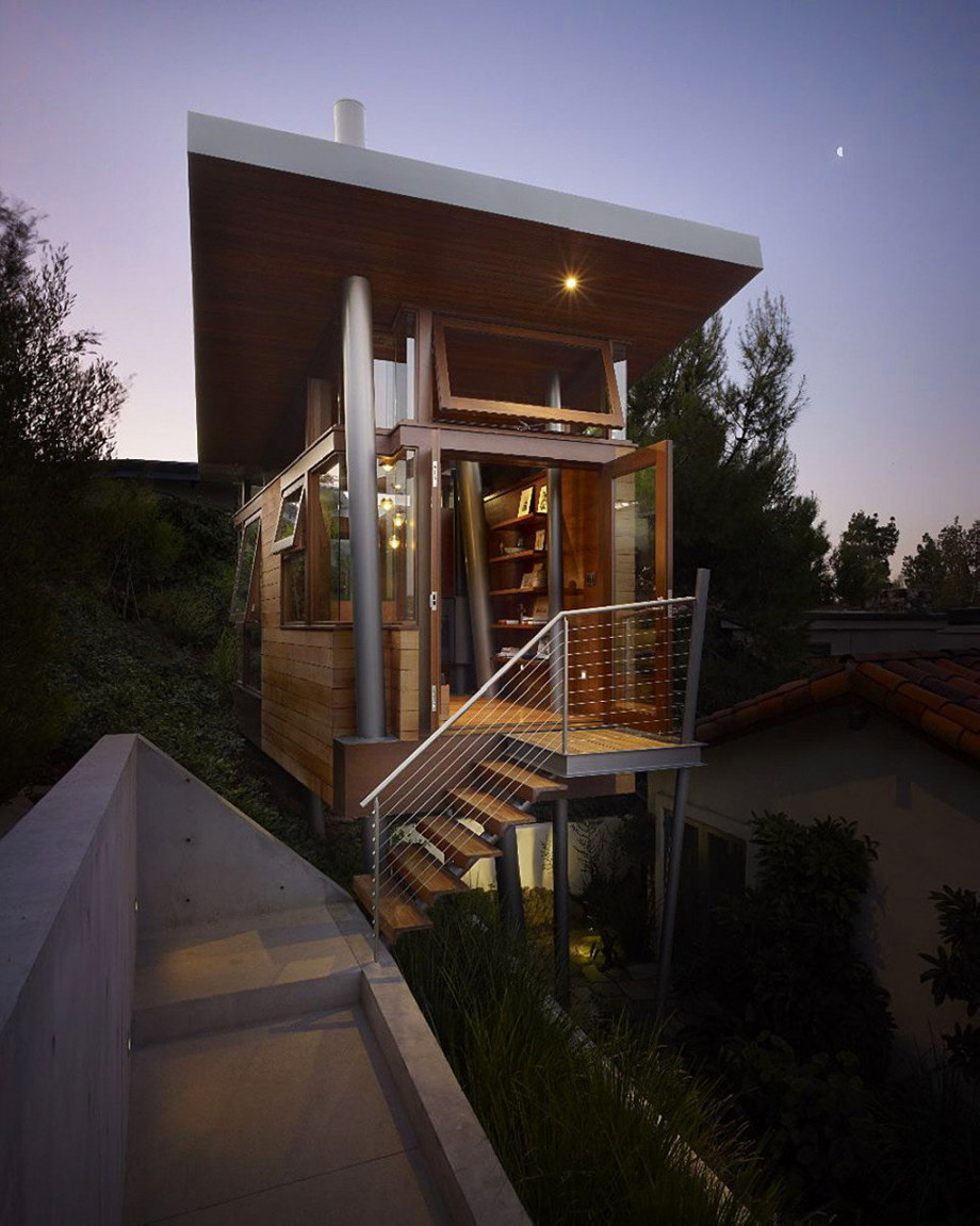 The art studio on a tree by Rockefeller Partners Architects 12