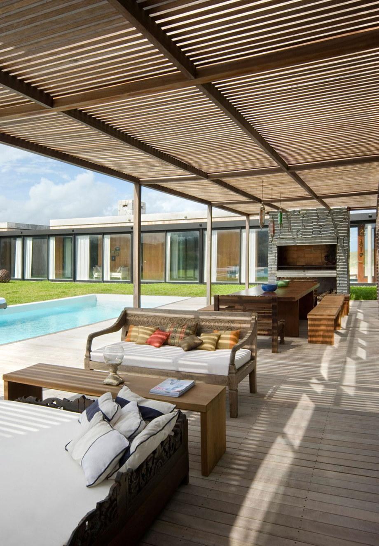 The beach house La Boyita Residence by Martin Gomez Arguitectos, Uruguay 12