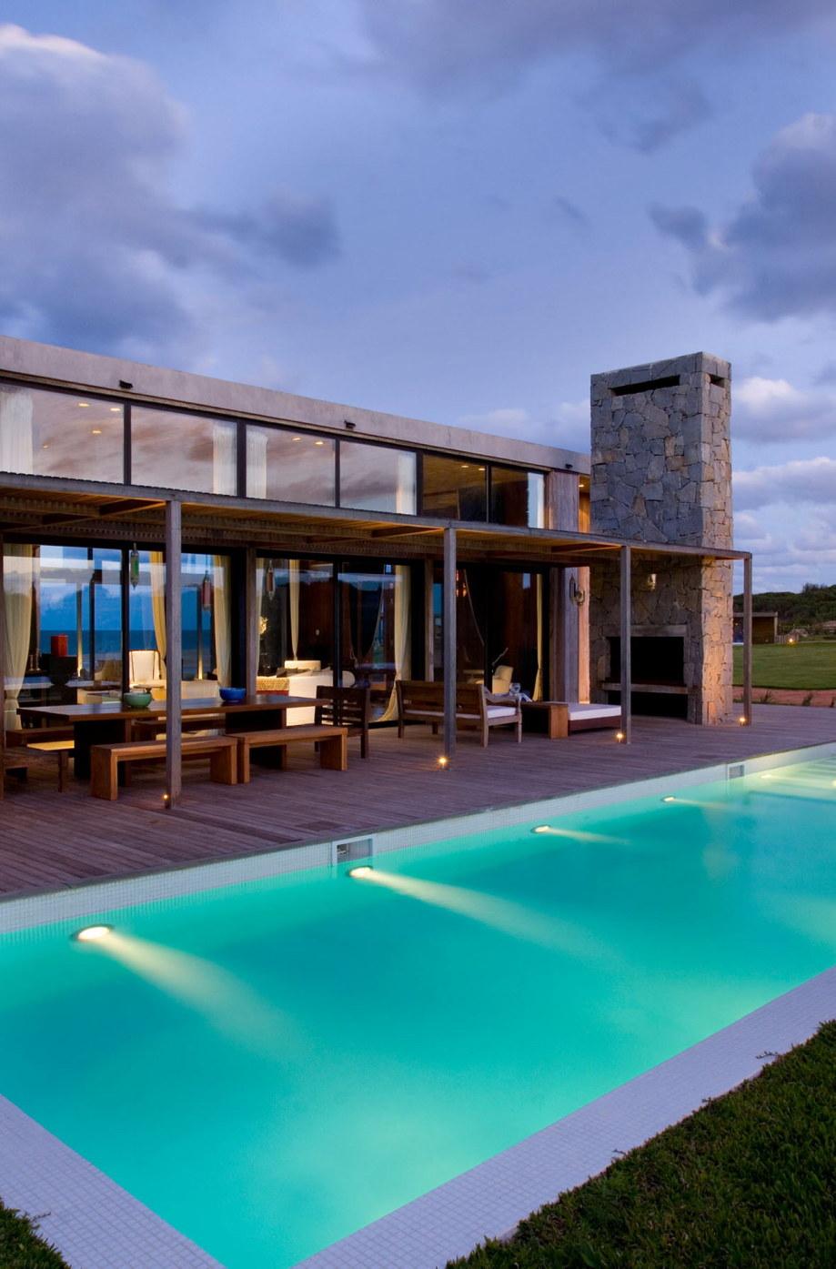 The beach house La Boyita Residence by Martin Gomez Arguitectos, Uruguay 35