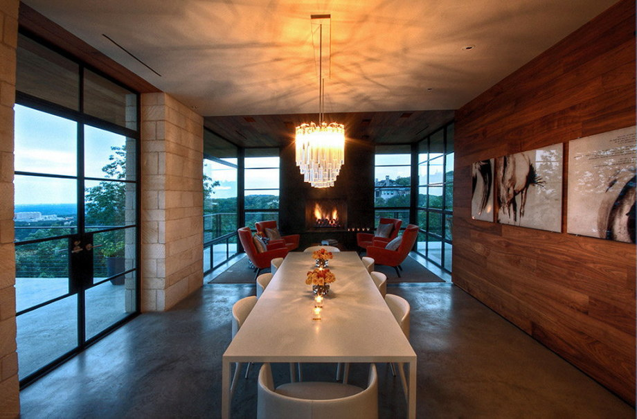 The elegant house in the picturesque hillside in Texas 26