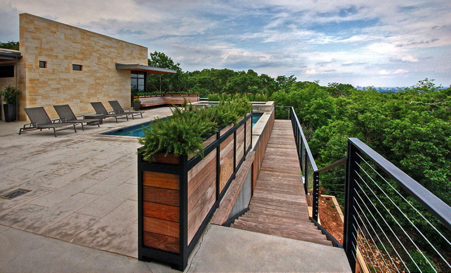 The elegant house in the picturesque hillside in Texas 3