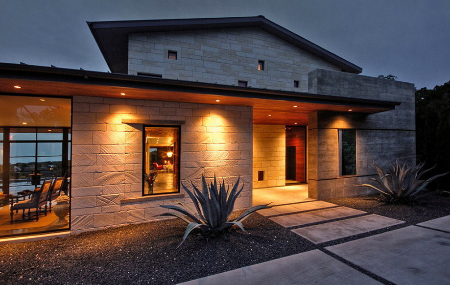 The elegant house in the picturesque hillside in Texas 34