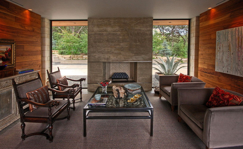 The elegant house in the picturesque hillside in Texas 8