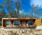 The house with the wonderful view of the valley from Rory Brooks Architects
