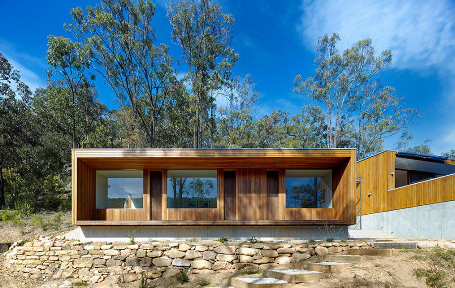 The house with the wonderful view of the valley from Rory Brooks Architects 1