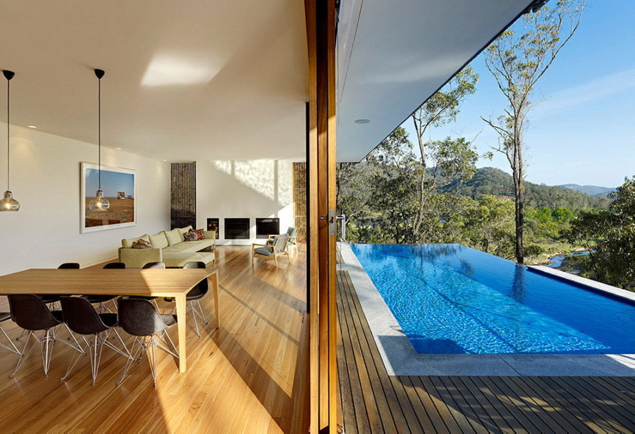 The house with the wonderful view of the valley from Rory Brooks Architects 4