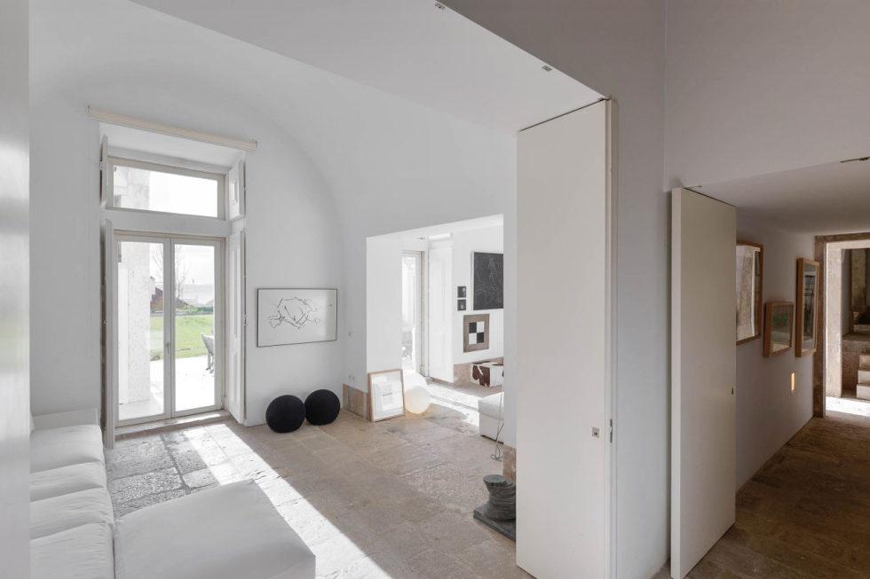 The luxury interior by Aires Mateus Arquitectos, Lisbon