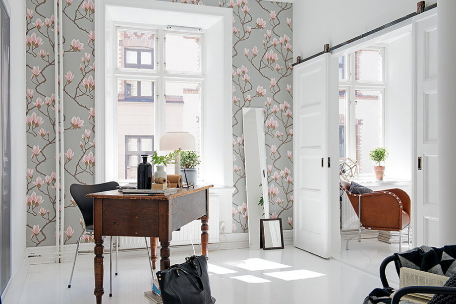 The snow-white three bedroom apartment in Sweden 10
