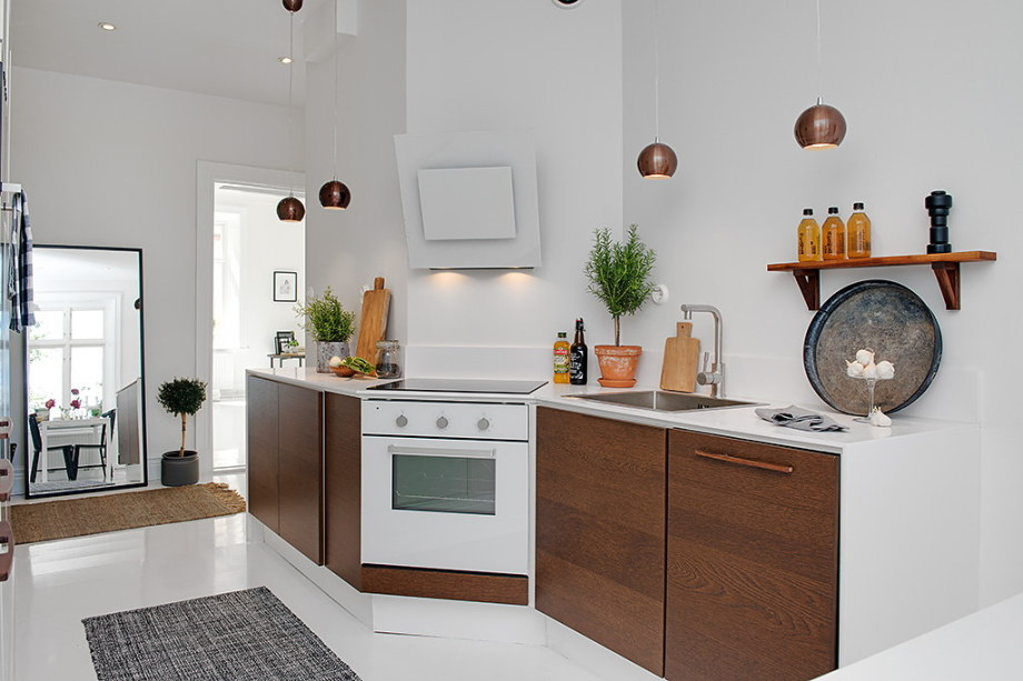 The snow-white three bedroom apartment in Sweden 14