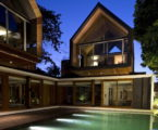 The sophisticated and elegant design of the Svarga Residence in Bali, Indonesia