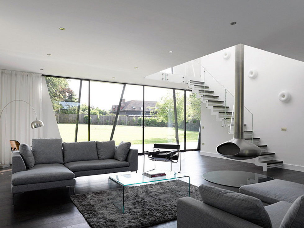 Trish House Yalding A Modernism-Styled Project From Matthew Heywood Limited, Great Britain 9