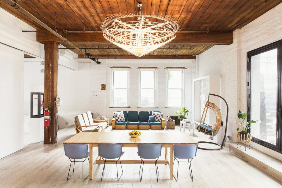 Williamsburg Loft in New York From Ensemble Architecture 1