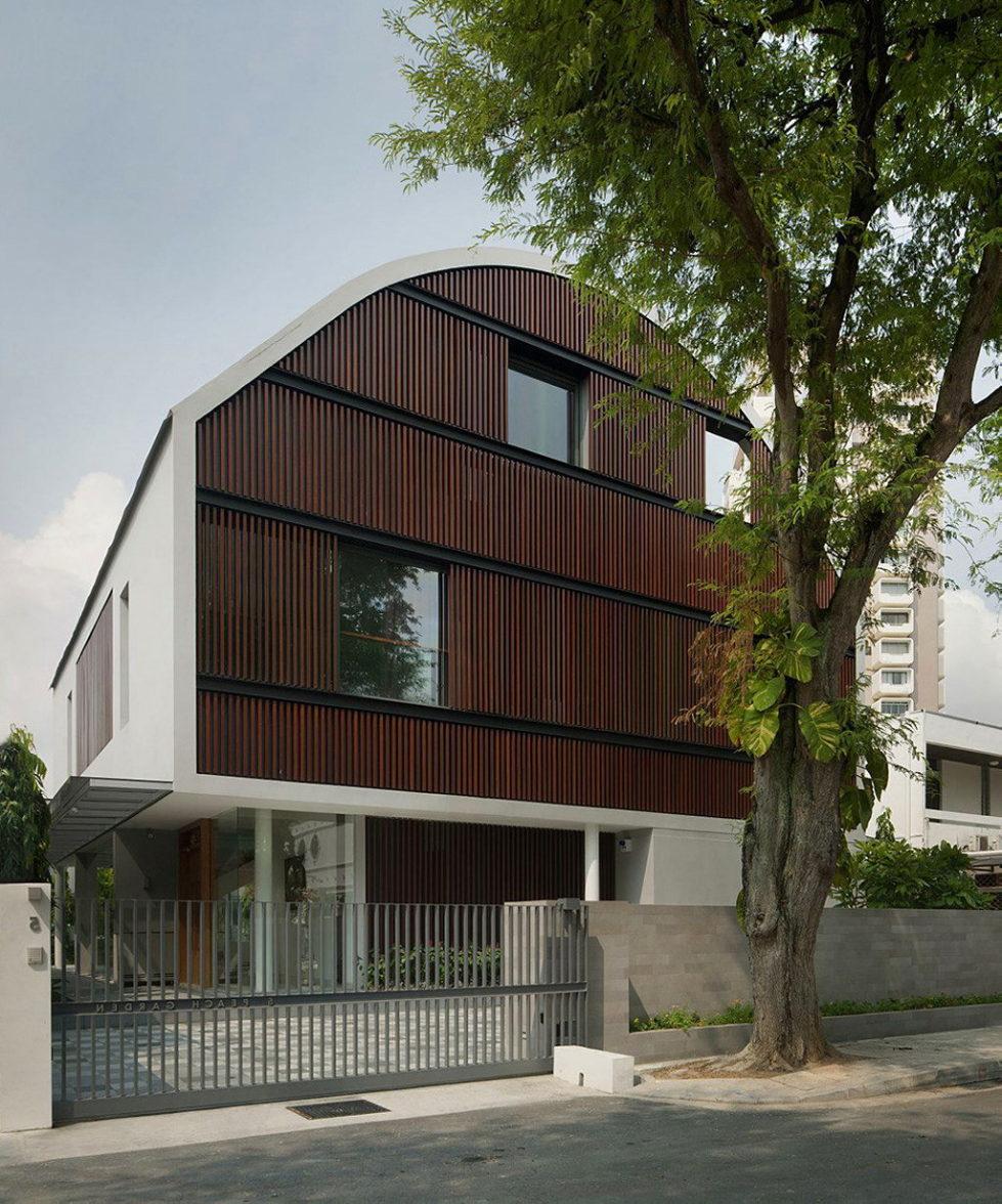 Wind Vault House From Wallflower Architecture Studio, Singapore 1
