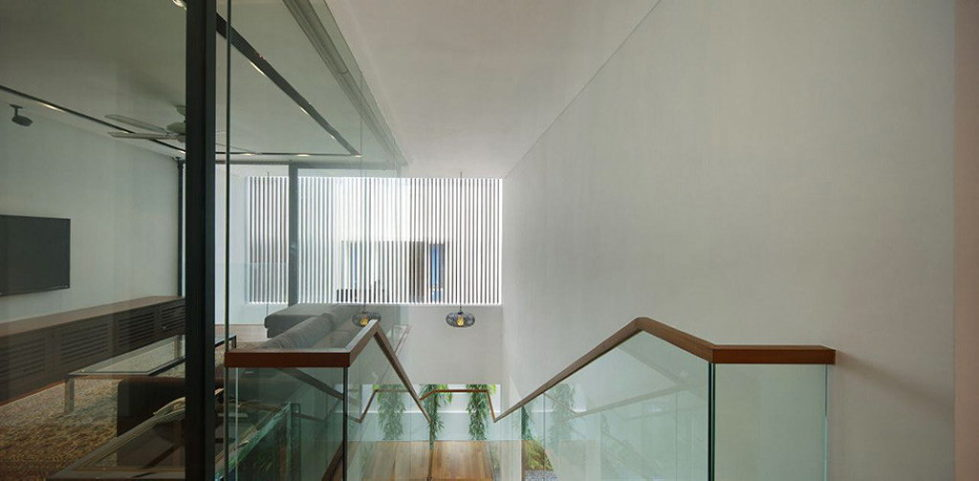 Wind Vault House From Wallflower Architecture Studio, Singapore 12