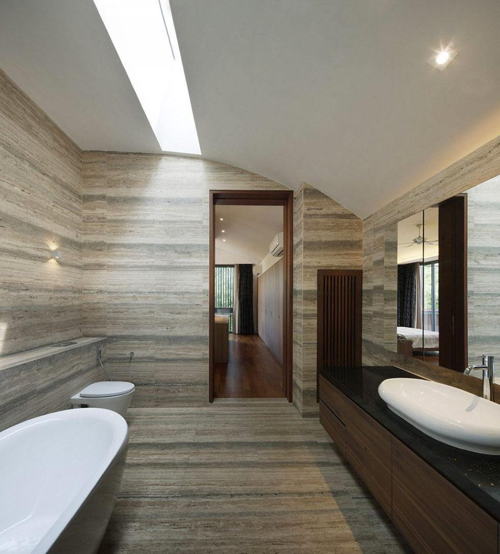 Wind Vault House From Wallflower Architecture Studio, Singapore 20