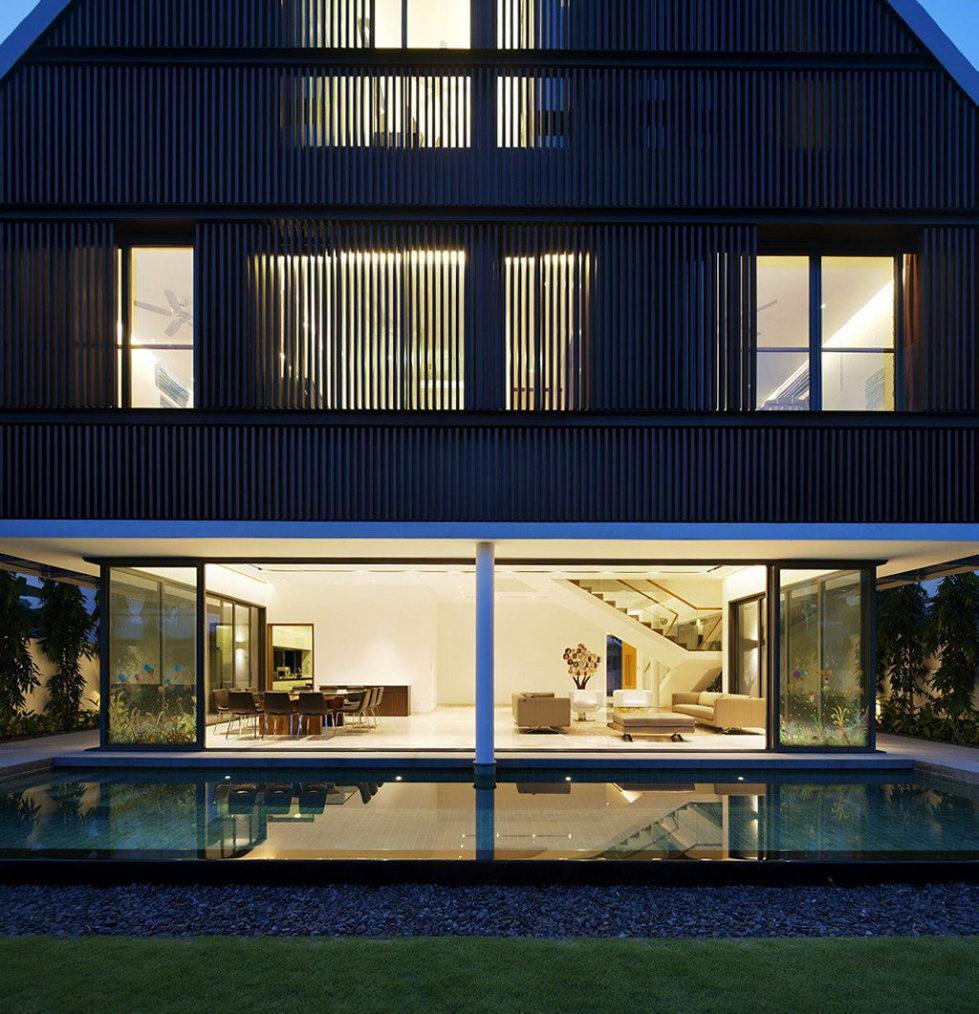 Wind Vault House From Wallflower Architecture Studio, Singapore 27