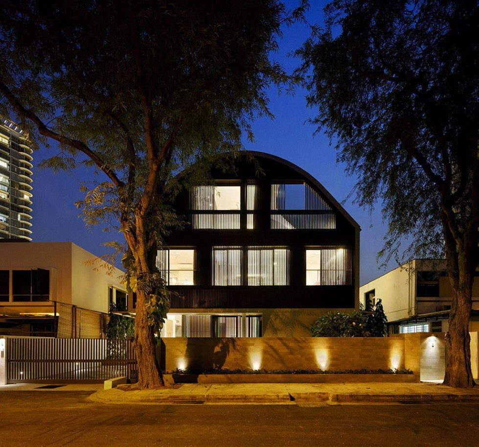 Wind Vault House From Wallflower Architecture Studio, Singapore 31