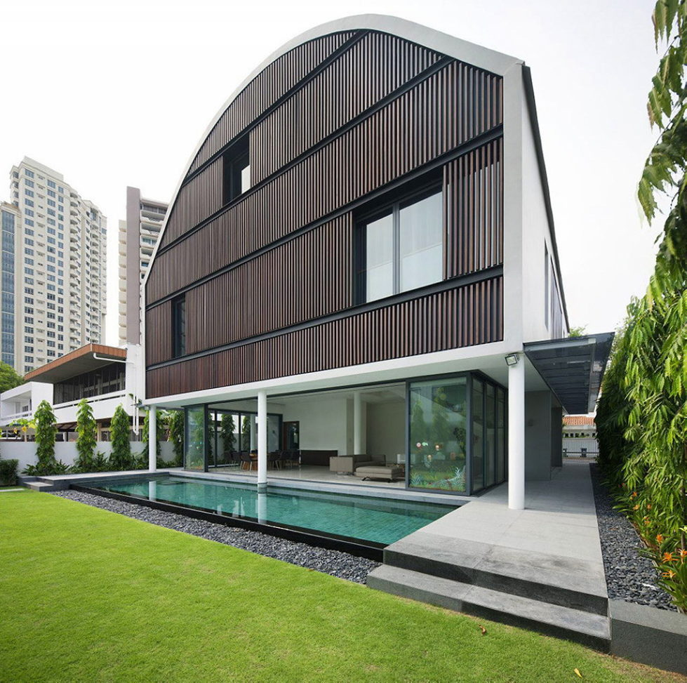 Wind Vault House From Wallflower Architecture Studio, Singapore 4