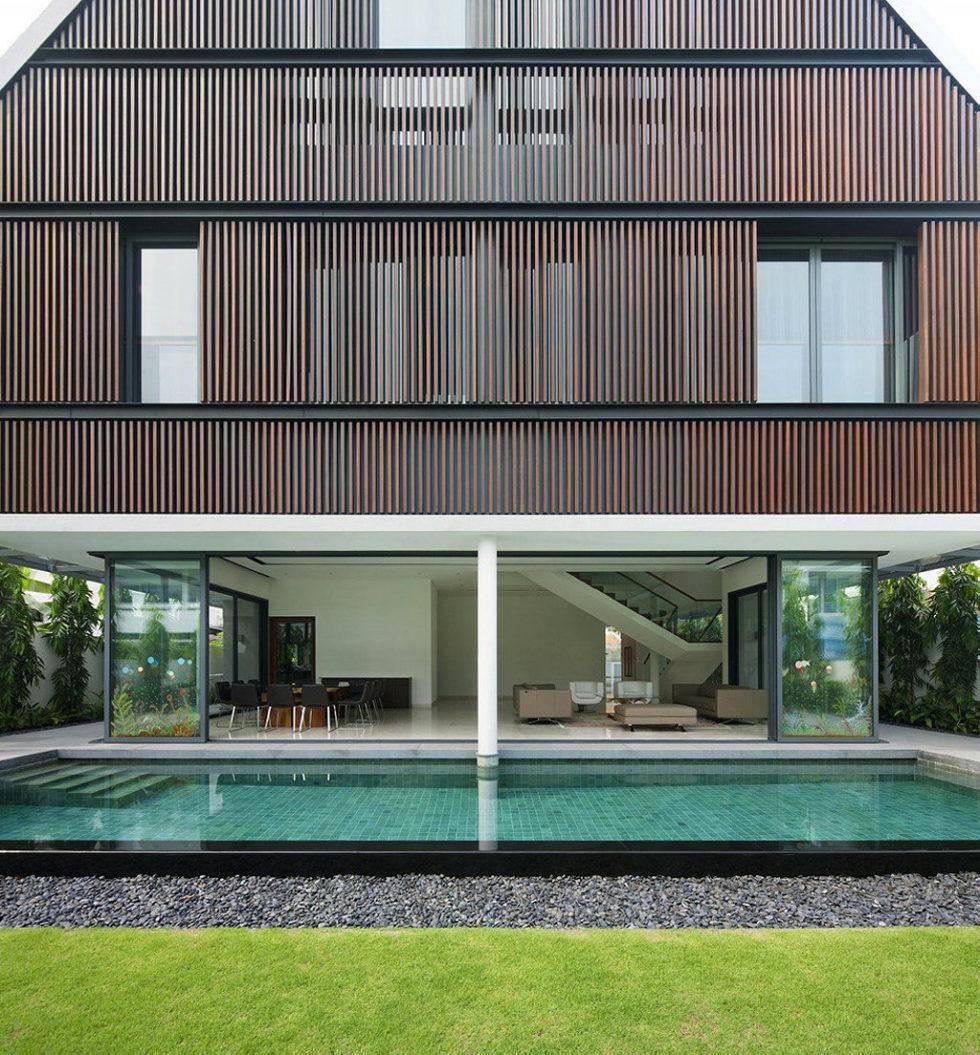 Wind Vault House From Wallflower Architecture Studio, Singapore 5