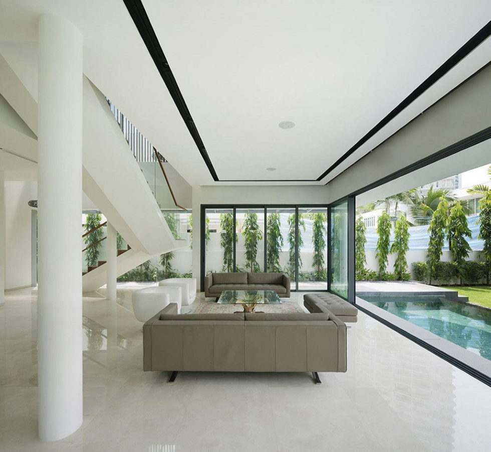 Wind Vault House From Wallflower Architecture Studio, Singapore 7