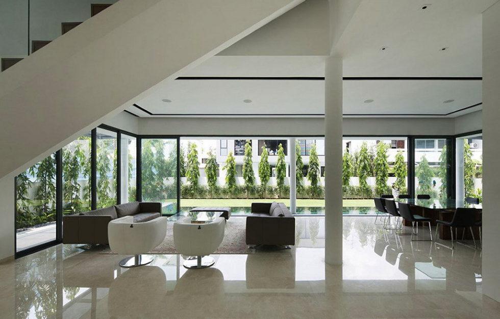 Wind Vault House From Wallflower Architecture Studio, Singapore 9