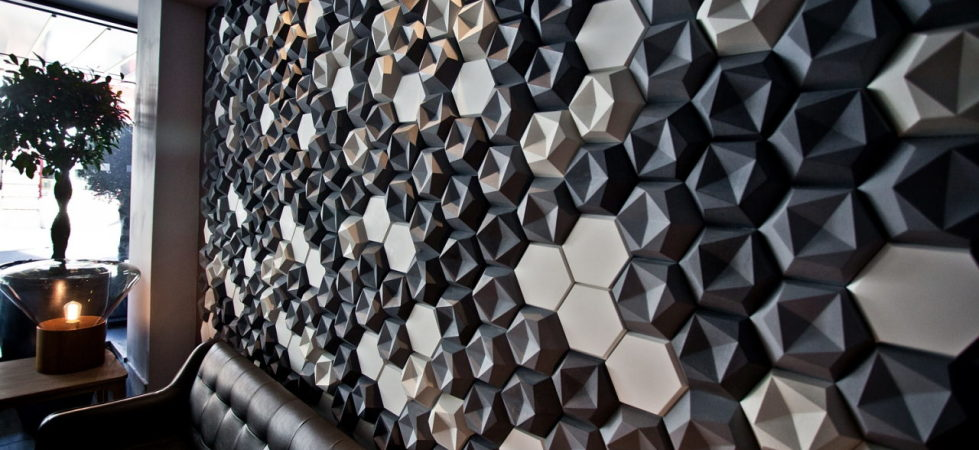 3D Tiles From Kaza Concrete – PREZZO RESTAURANT I, Fleet, UK
