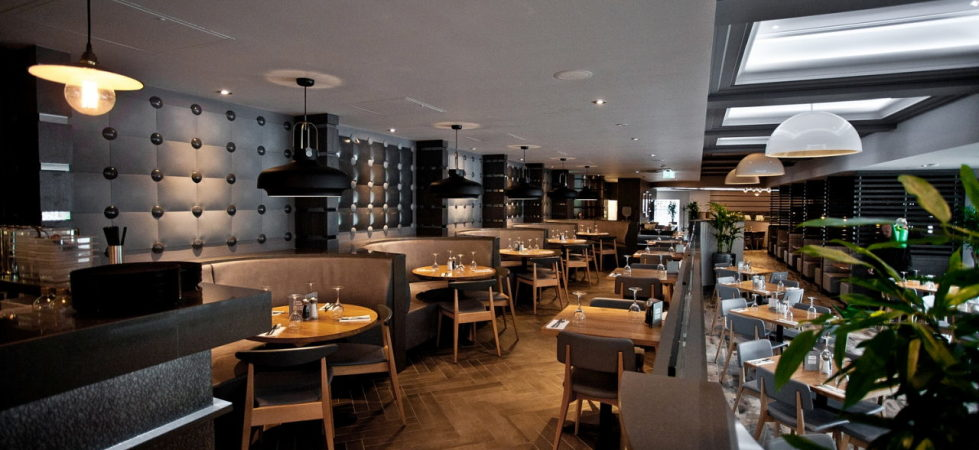 3D Tiles From Kaza Concrete - PREZZO RESTAURANT II, Swindon, UK