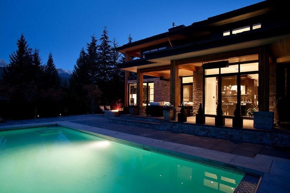 A Stylish House In British Columbian Mountains Worthing $8.5 Million 3