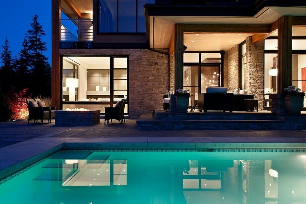 A Stylish House In British Columbian Mountains Worthing $8.5 Million 5